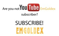 Are you not still our YouTube subscriber?  Subscribe EmGoldex main channel: http://www.youtube.com/subscription_center?add_user=EmgoldexDMCC  Subscribe EmGoldex channel with reviews from customers: http://www.youtube.com/subscription_center?add_user=emgoldexreviewss