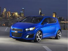 I think GM got it right with this little car. 2013 Chevy Sonic
