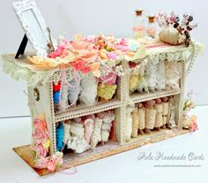 Aola Handmade Cards ...: Boutique Station using Prima Princess Collection