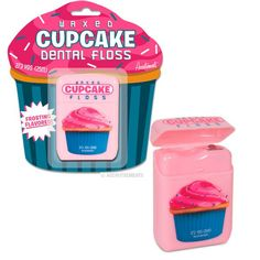 Cupcake Novelty Gifts | Cupcake Dental Floss Rockabilly Novelty Gift Kids Cute Kitsch | eBay