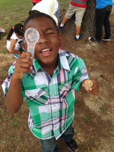 exploring at Falling Creek Elementary