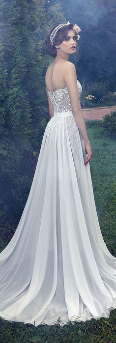 Wedding dress idea; Featured Dress: Milva
