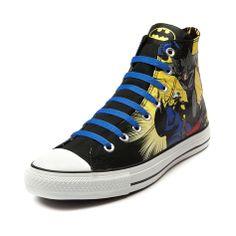 Journeys converse all star hi batman sneaker batman and robin // I NEEEEEEED IT!!!!!