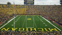 The Big House: 109,901!!! Michigan Stadium in Ann Arbor, MI