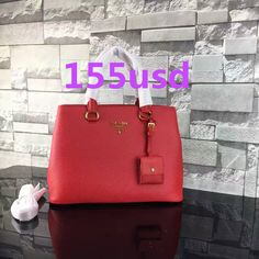48c3d3a83d26 Prada Calf leather tote Double leather handle bag 1BA579 size:34X25X15CM  0550P1 whatsapp:+8615503787453