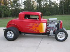 1932 and 1934 Ford coupes, roadsters, sedans and vicky's Rat Rod Cars, Hot Rod Trucks, Rat Rods, Classic Hot Rod, Classic Cars, Pinup, Hot Rod Autos, Performance Auto Parts, Car Man Cave