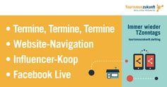 Immer wieder TZonntags, 6.3.2016: Kooperation Influencer-Netzwerk, Website-Navigation, TourismusCamp 2017, Facebook Live, XING und LinkedIn