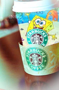 Sponge Bob and Starbucks