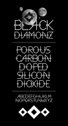 BLACK DIAMONZ FONT - Luis B Hernandez