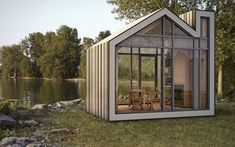 Meet Bunkie: A Tiny New Prefab House from 608 Design and BLDG Workshop   Inhabitat - Green Design, Innovation, Architecture, Green Building