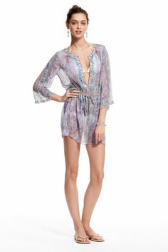 Enjoy an additional 60% off sale prices for our Summer Sale. Printed Silk Tunic.