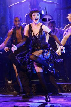 "Catherine Zeta-Jones in ""Chicago"".  Choreographed by the incomparable Bob Fosse."