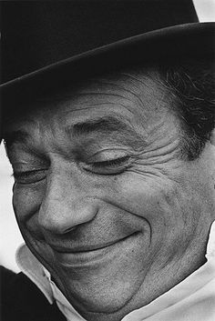 Yves Montand, by Jeanloup Sieff