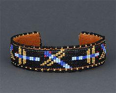 dragonfly beaded bracelet, Teri Greeves (Comanche, Kiowa)