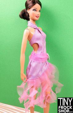 d59161b10a4 Barbie Seriously Saucy Salsa Dress at Tinyfrockshop.com