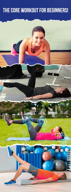 This core workout for beginners will get you on your way to a toned and strong core!