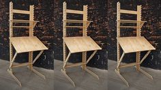 A Sitting, Standing, and Draft Desk, Plus Easel! Studio Furniture, Cool Furniture, Furniture Design, Woodworking Furniture, Woodworking Projects, Atelier Home, Art Studio Storage, Drawing Desk, Ikea Interior