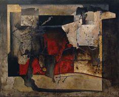 Junio. Sin título, óleo sobre tela, 100x120, 2010, Manuel Felguérez.