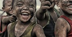 Don't these little rascals look happy. Sends happiness right through me just lookin' at this photo... | Mio | Pinterest | Happiness, Smile and Happy