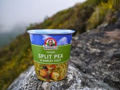 @RightFoods Vegan Backpacking Split Pea Soup Review