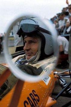 Bruce McLaren at the 1968 USA GP