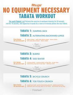 Printable Tabata Workout
