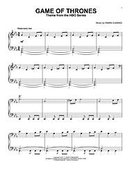 game of thrones sheet music string quartet