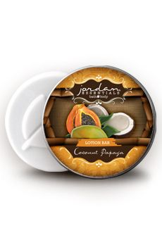 RETIRED Save $2.25! Jordan Essentials -  Coconut Papaya Lotion Bar http://www.myjestore.com/lissasnyder