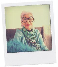 Life Lessons with Fashion Icon Iris Apfel