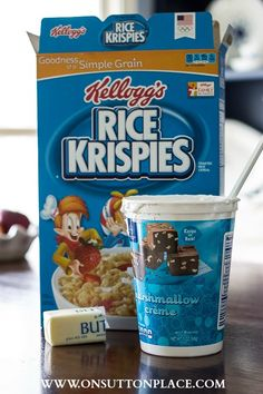 3 tweaks to the original recipe turns out the best and creamiest Rice Krispies Treats ever!
