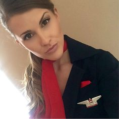 @baileemb.The most beautiful flight attendants of the world. --------------------------------------------------- Airline: #Deltaairlines Country: #USA