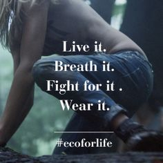 To be an #EcoWarrior you've got to Act. Now!