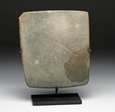 Early Egyptian Stone Cosmetic Palette : Lot 1. Ca 3200 BCE.