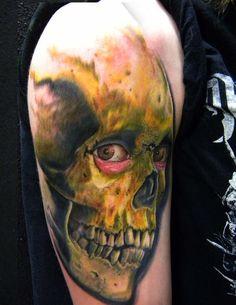 #Tattoo #Artist of the Day: Justin Lewis #Inked #InkedMag #ink #tattoo #tattoos #tattooed #art #skull
