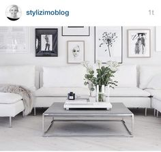 Scandinavian Living Room Designs I am not absolutely sure if you have noticed of a Scandinavian interior design. Small Living Rooms, Home And Living, Living Room Designs, Living Spaces, Living Room White, Cozy Living, White Bedroom, Living Room Interior, Living Room Decor