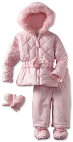 Rothschild Baby-Girls Infant Snowsuit With Bow for only $44.10