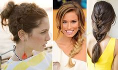 Inspiração: Tranças! (127 Penteados com Trança Embutida) Braids, Hair Cuts, Dreadlocks, Chic, Hair Styles, Color, Beauty, Beautiful, Women