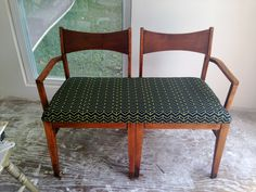 Turn two chairs into a bench