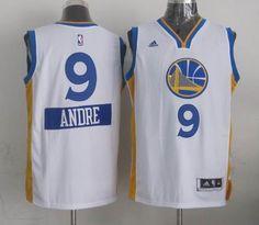 Golden State Warriors #9 Andre Iguodala 2014-15 Christmas Day Swingman Road Jersey white $24.0