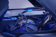 Chevrolet FNR Concept Interior