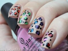 Love. Varnish, chocolate and more...: 31 Day Nail Art Challenge - Rainbow nails!