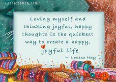 """♡♡彡""""Loving myself and thinking joyful, happy thoughts is the quickest way to create a happy, joyful life."""" ~#LouiseHay ~♡Connie #selfesteem #parenting #kidsaffirmations Affirmation books for kids! ☆☆ Fun! ☆☆ """"I Create My World"""" --> http://amzn.to/18VTWts ♡ """"I Believe In Me"""" --> http://amzn.to/HQIDFW ♡"""