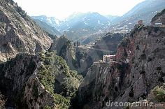 Photo about Orthodox Church at Karpenisi inside a gorge. Image of orthodox, mountains, nature - 344970 Greek Wedding, Wedding Summer, Summer 2016, Grand Canyon, Greece, To Go, Fat, Stock Photos, Mountains