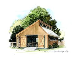 Find plans for beautiful workshops like this and many more designs on our website.