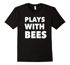 Beekeeper Shirts Plays with Bees Shirt, Beekeeping Shirt This Plays with Bees shirt is perfect for the bee lover in your life. Have beekeeping in your blood and on your brain? The beekeeper in your life will love this shirt whether they are an amateur beekeeper or professional. If you keep honeybees for fun or to help save the bees or showing that all hives matter. This funny beekeeping shirt features a beehive full of bees and honey with the phrase Hive Mind above.
