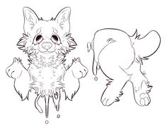 Drawing Base, Drawing Stuff, Wolf Base, Candy Gore, Furry Drawing, Art Base, Creature Design, Drawing Reference, Sketches