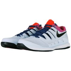 separation shoes 1ff9d 80049 Nike Air Zoom Vapor X Men s Tennis Shoes White Racket Racquet Court  AA8030-401