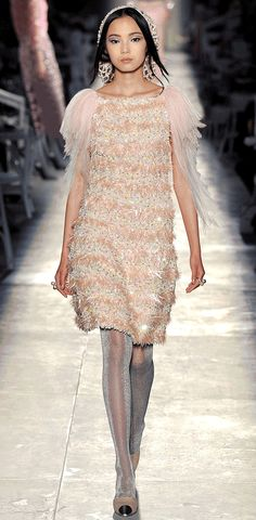 Fashion GIF Of The Week: #Chanel #Couture 2013 Model Xiao Wen Gets Wings!