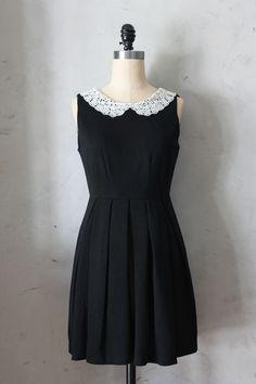 Etiquette Dress in Black