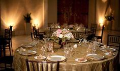 gold pintuck tablecloth